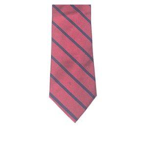 Polo Ralph Lauren 100% Silk Tie - Red/Blue